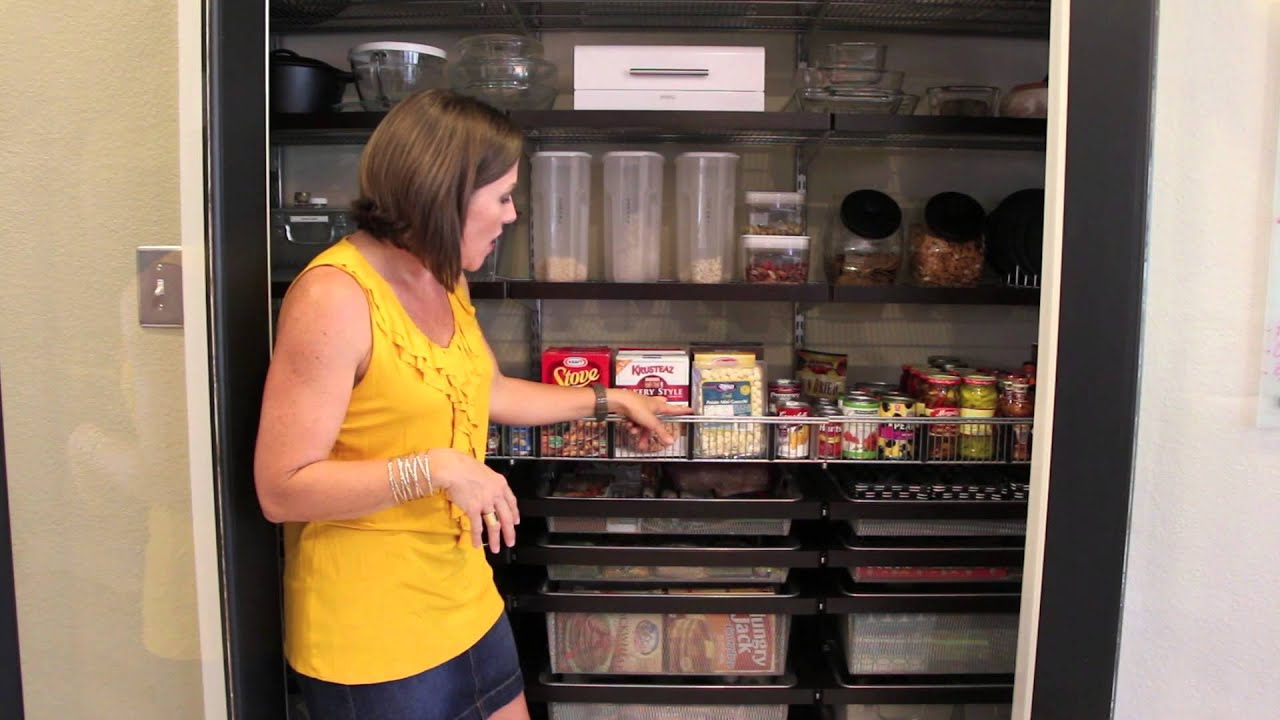Organize Your Pantry Youtube
