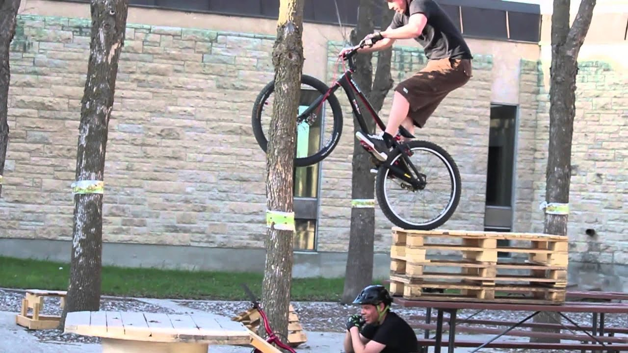 Fat Levels Bike Trials Demo Youtube