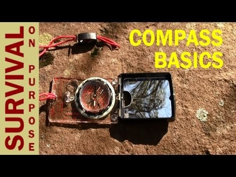 Compass Basics - Map and Compass Skills - Video 3