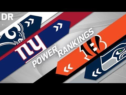 NFL Power Rankings Post 2018 Draft!   NFL Highlights