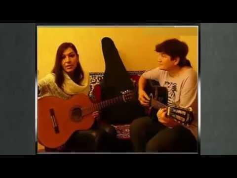 Уроки мастерства исполнения песен под гитару Заочная ученица в гостях у Виктории Юдиной
