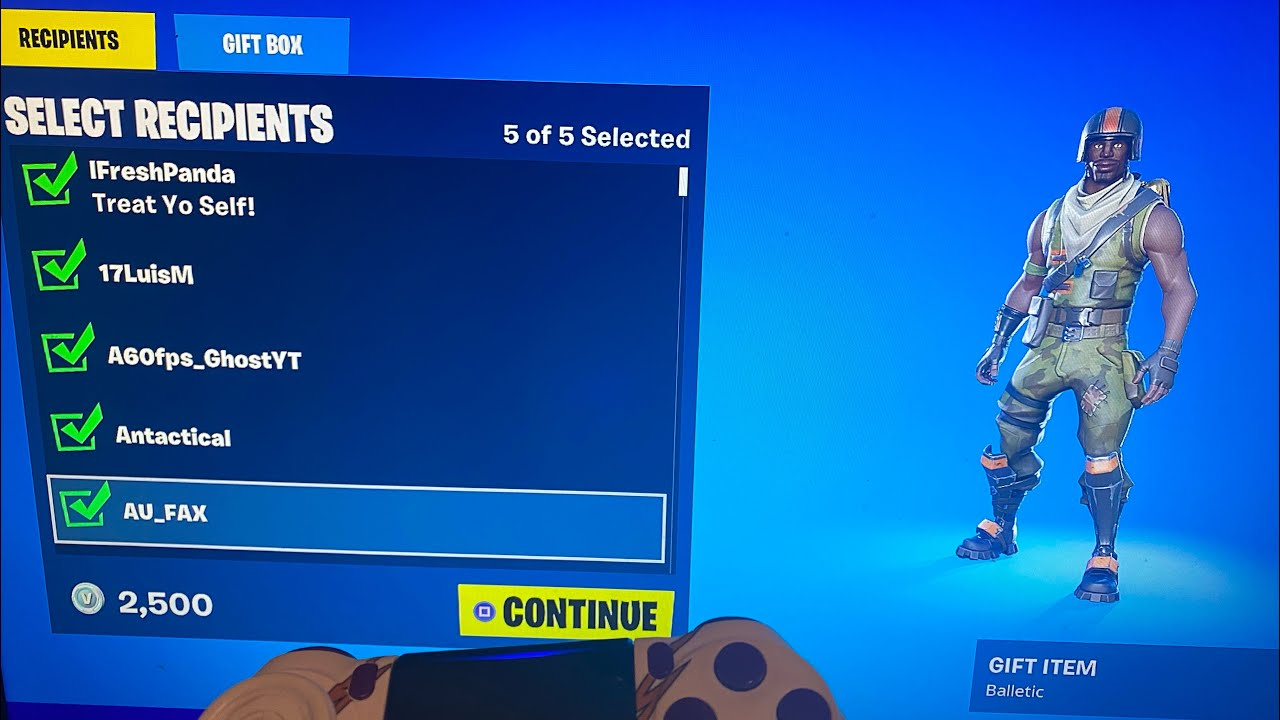Get the Balletic Emote in the Item Shop now! (Fortnite)