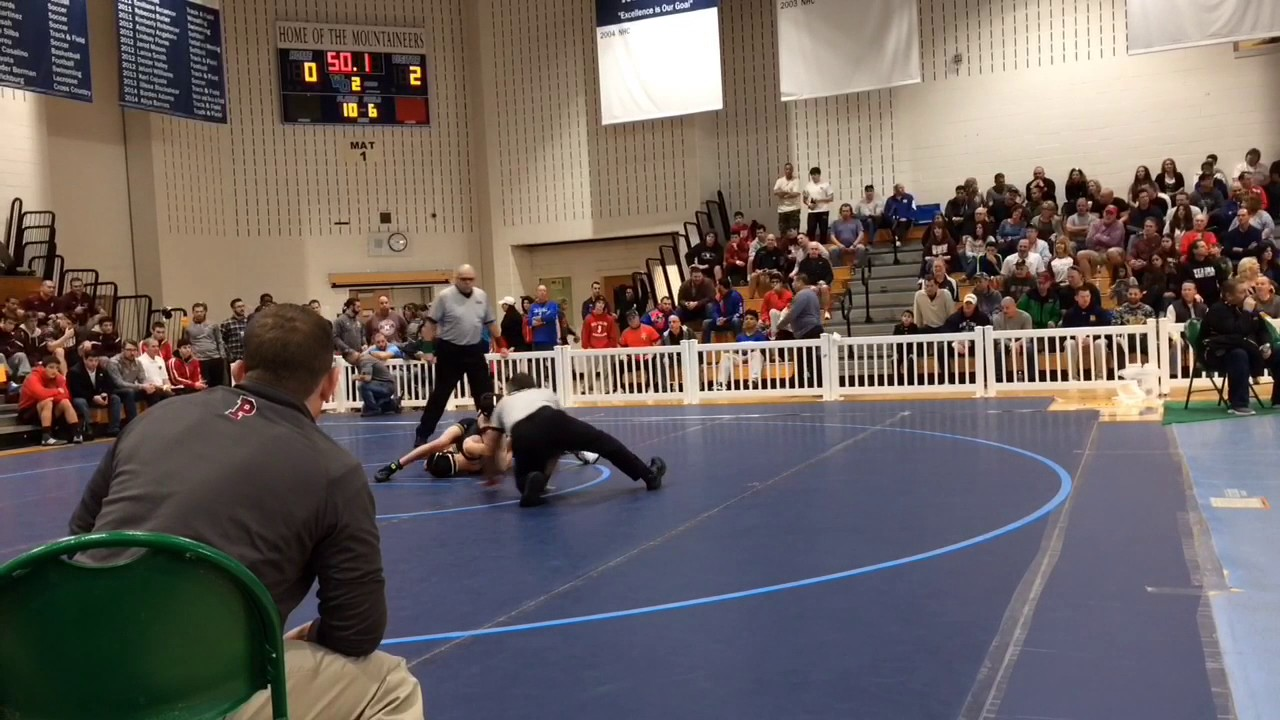 WATCH: Phillipsburg's Cullen Day pins way into state
