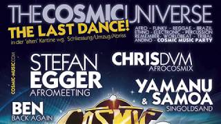 The Cosmic Universe - The Last Dance - Live @ Kantine² Augsburg - 28.10.2017