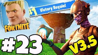 PORT-A-FORT HUNTING! - Fortnite PS4 / IOS / ANDROID Gameplay #23