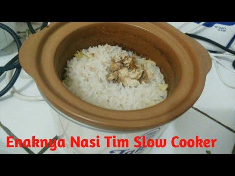 Cara Memasak Nasi Tim Dan Bubur Menggunakan Slow Cooker Takahi Youtube