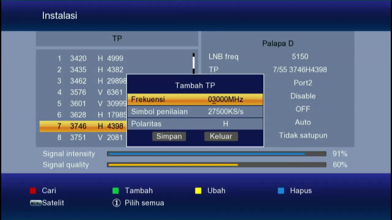 Cara Cari Siaran Tv