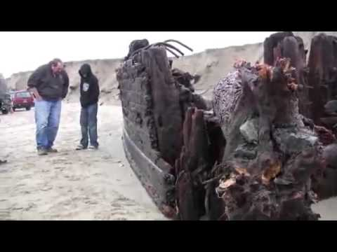 Mystery Shipwreck Found in Coos Bay Orego
