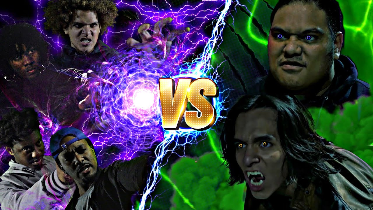 Rae and Manu VS 4 Witches   MTJM DELETED SCENE   WEREWOLF FIGHT