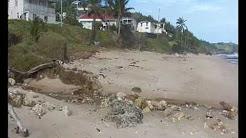 Surfing at Prospect Bay and Bathsheba Barbados