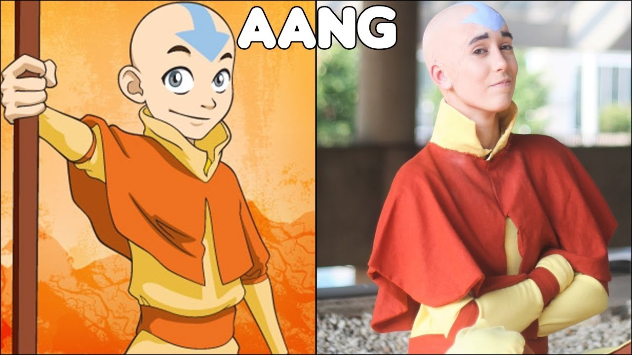 Avatar The Last Airbender Characters In Real Life