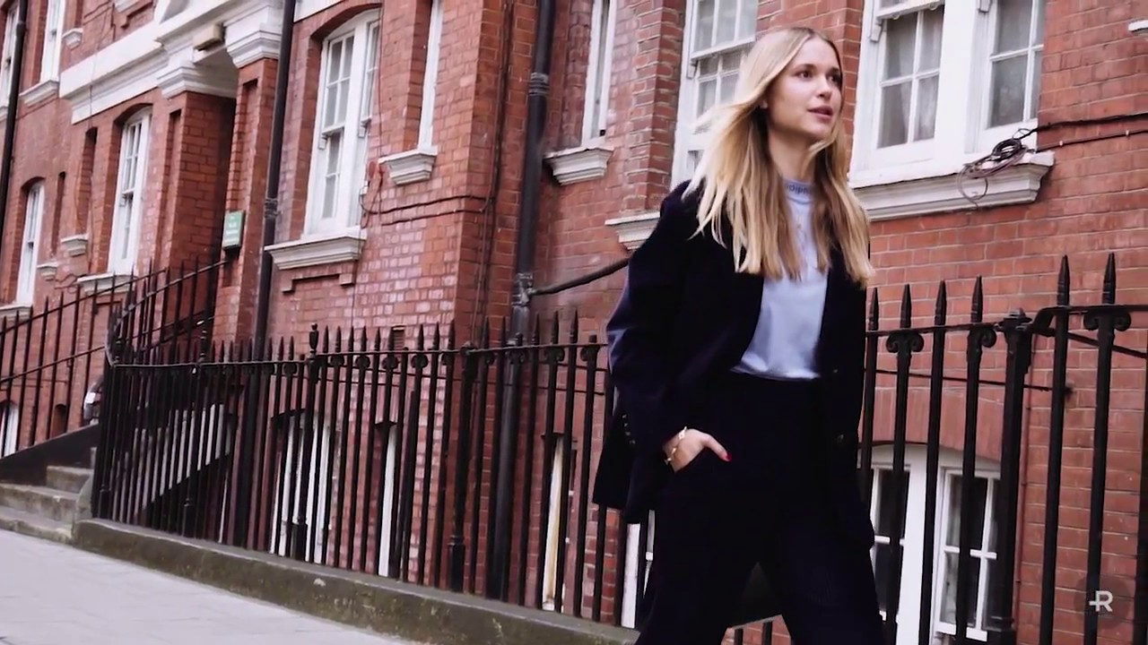 London Fashion Week Spring Summer 2018 Street Style Youtube