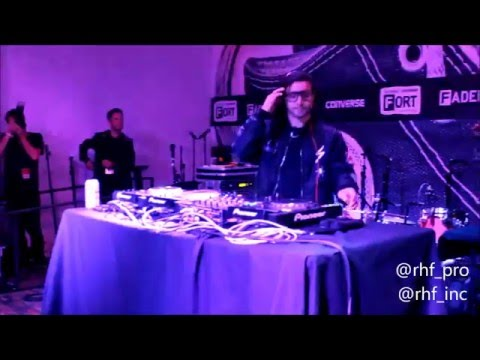 Skrillex Live Performance In Brooklyn  at Converse Rubber Tracks
