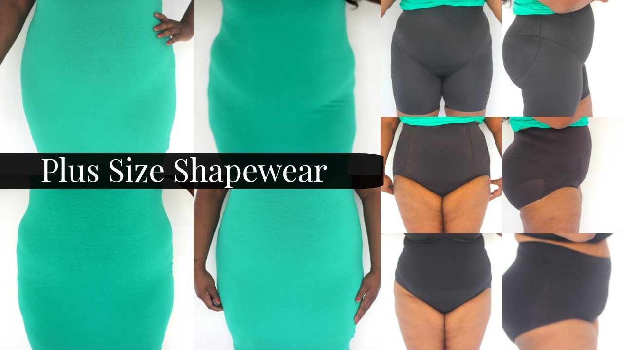 plus size shapewear try on |plus size fashion| - youtube