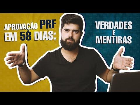VERDADES E MENTIRAS - Aprovação na PRF em 58 dias | Fernando Mesquita