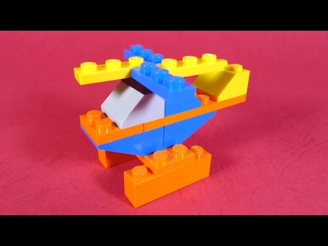 How To Build Lego Helicopter 4630 Lego Build Play Box Building