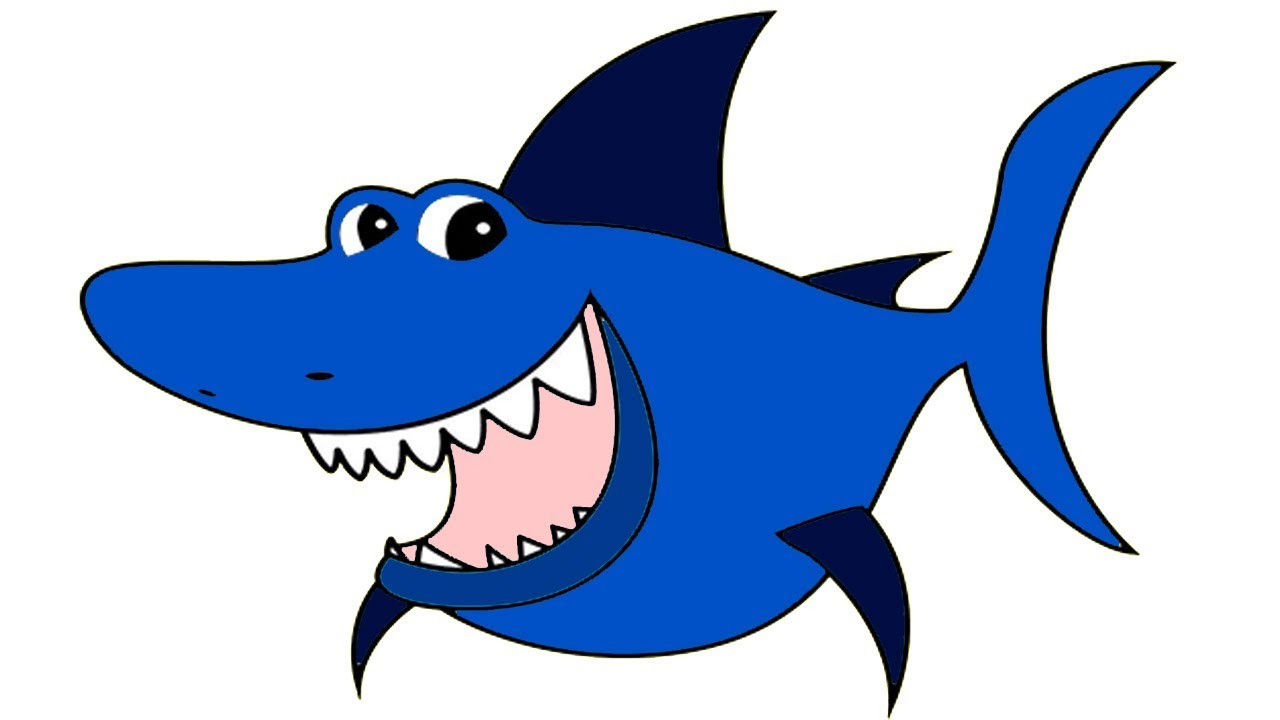 Baby Shark Coloring Page For Kids Baby Shark Song For Baby Youtube