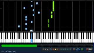 One Direction - One Thing - Piano Tutorial (100%) Synthesia + Sheet Music
