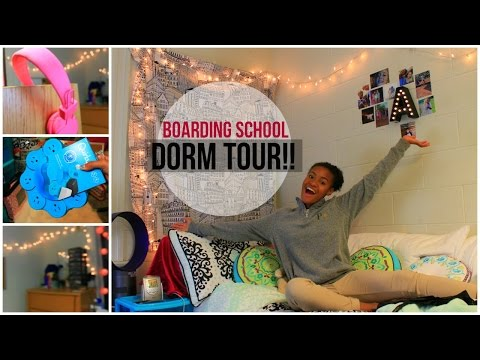 BOARDING SCHOOL DORM TOUR