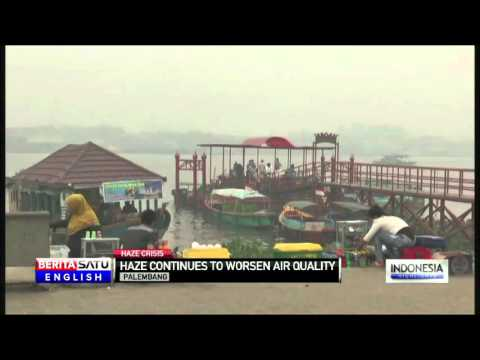 Haze Crisis: Air Quality Worsens in Palembang