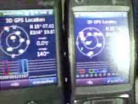 Compare GPS HTC TyTN II with HTC Artemis