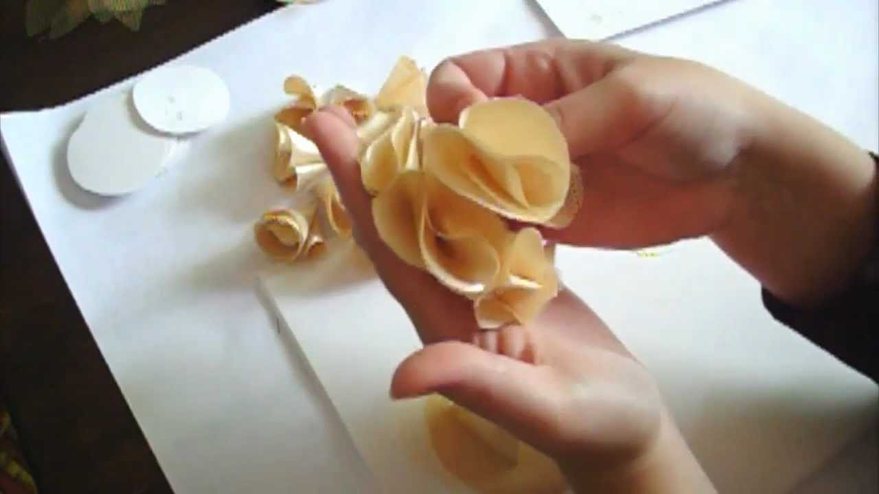 flower making tutorial series day 2 youtube