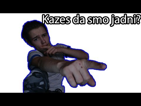 👉Kazes da smo jadni👈 (Official lyrics Video)