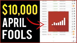 How Socialblade Made $10,000+ on April Fools Day 2019