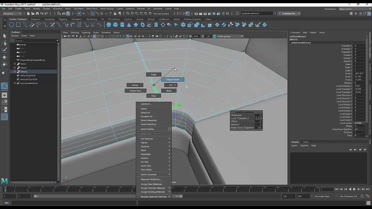 Como modelar un sillon en menos de 20 minutos youtube - Como tapizar un sillon ...