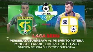 Persebaya Surabaya vs Barito Putera, Live 8 April 2018, hanya di Indosiar