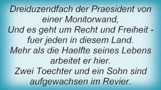 Reinhard Mey - 3. Oktober '91 Lyrics