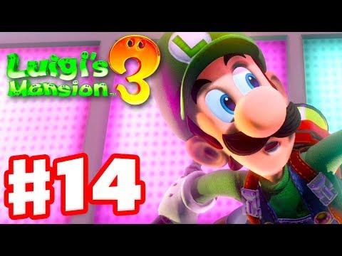 Luigi's Mansion 3 - Gameplay Walkthrough Part 14 - Dance Hall! (Nintendo Switch)