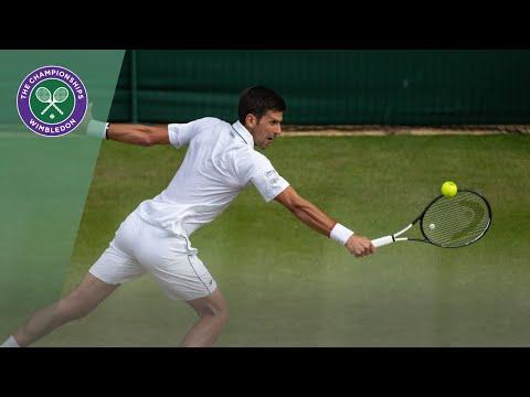 Novak Djokovic vs Ugo Humbert Wimbledon 2019 fourth round highlights