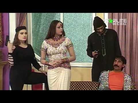 Iftikhar Thakur, Nargis and Asif Iqbal New Pakistani Stage Drama Full Comedy Clip   Pk Mast