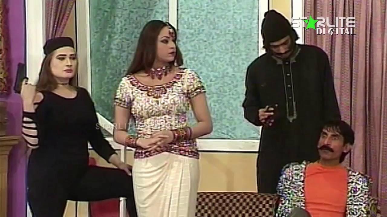 Iftikhar Thakur, Nargis and Asif Iqbal New Pakistani Stage Drama Full Comedy Clip | Pk Mast