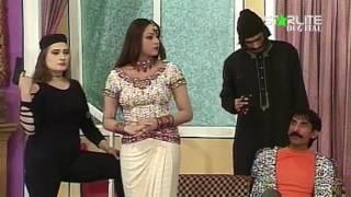 Iftikhar Thakur, Nargis and Asif Iqbal New Pakistani Stage Drama Full Comedy Clip