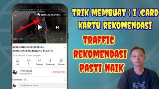 tutorial ( i ) card cara menambahkan kartu rekomendasi||auto traffic rekom naik