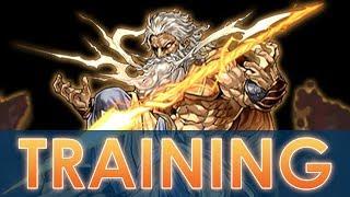 Puzzle & Dragons - Training Arena with Zeus GIGA