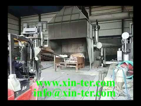 17 Aluminum alloy ingot (ADC12) production line -- Charging and melting process