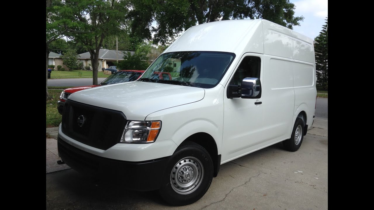 2016 Nissan NV3500 HD my brother Juan s High Roof Cargo Van April