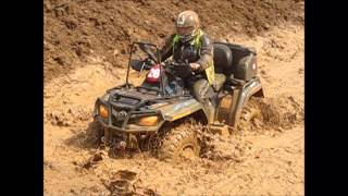RAHATSIZLAR ATV OFF-ROAD - YEŞİL VADİ ATV CUP - 13/04/2014 Mudding ATV Race