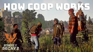 State Of Decay 2 How Multiplayer Works - Progression And Resource