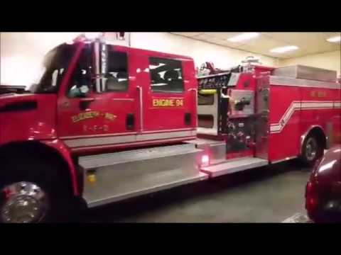 Elizabeth-Wirt Volunteer Fire Department Responding to Possible Fire