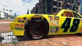 Video de GTA 5 | UN COCHE DE NASCAR EN GTA V!!! LA LOCURA DEL DLC SUPER SPORT SERIES | Stratus