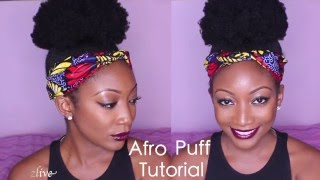 How To Create The Perfect Afro Puff