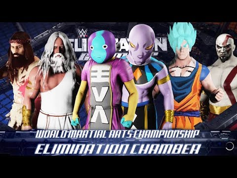 Lucha de Dioses - WWE Chamber Elimination 2018