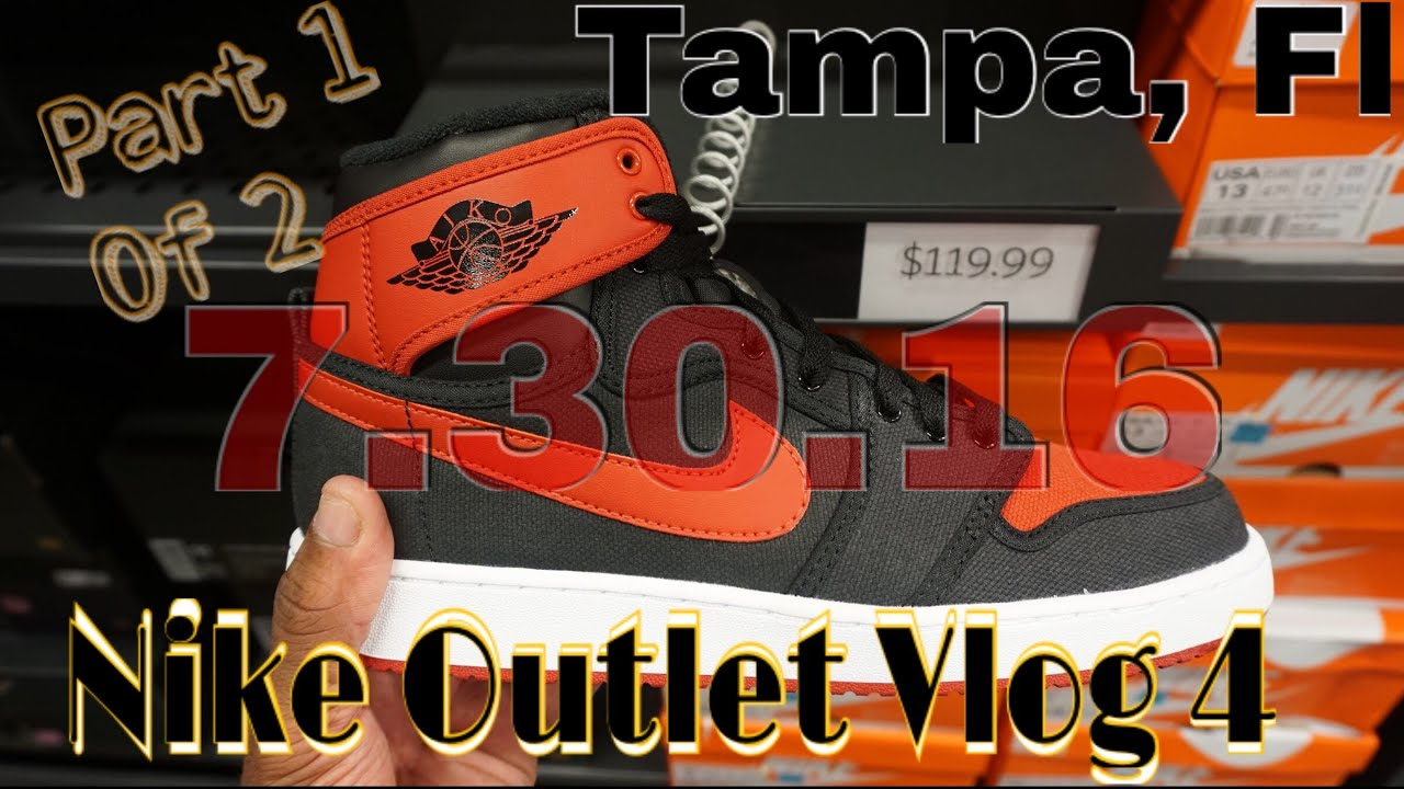 f09aa1b319d6 Nike Outlet Browsing Tampa