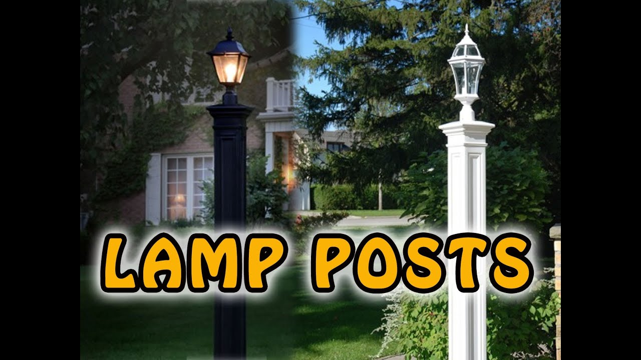Wooden Light Post Designs Fast And Easy Outdoor Lamp Post Save Big On Lamppost
