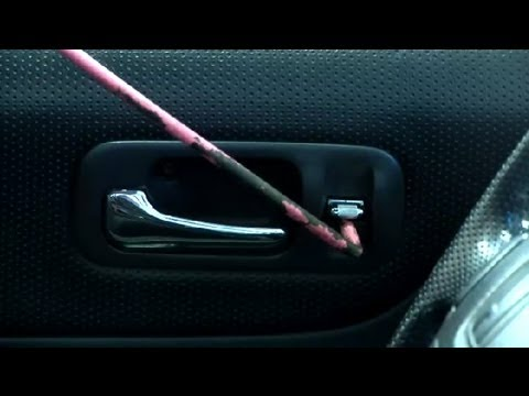 Tricks to unlocking a power door when you lock the keys in for How to unlock mercedes benz door without key