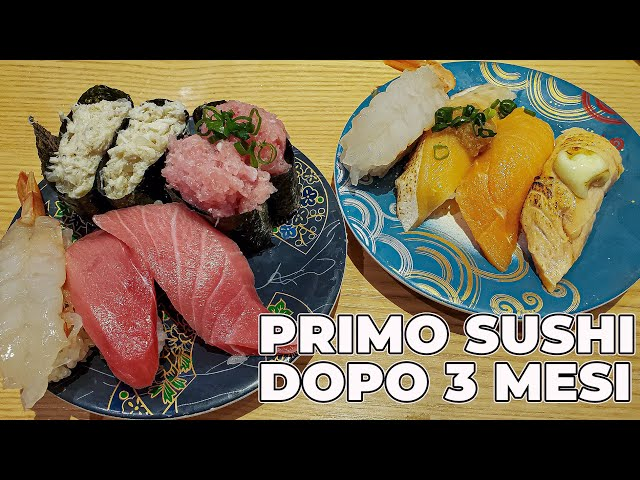IL PRIMO SUSHI DOPO 3 MESI - AKIHABARA